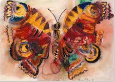 Butterfly by Norman Adams