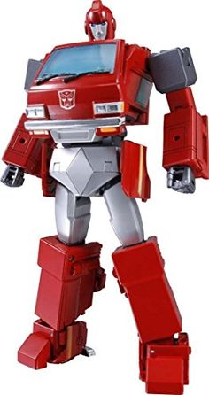 Takara Tomy presents their next Transformers Masterpiece action figure, Ironhide! This Transformer is from a new mold and transforms into a licensed Nissa Transformers Masterpiece, Ironhide Transformers, Transformers Toys, Original Transformers, Gi Joe, Statues, Robot Action Figures, Chef D Oeuvre, Optimus Prime