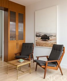 Grant Gibson Curates Art and Design for a Frameworthy San Francisco Home - San Francisco Cottages & Gardens - October 2017 - San Francisco