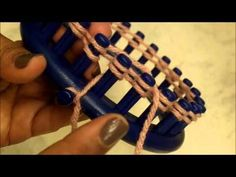 ▶ How to Loom - Basic Loom Knitting for Beginners - YouTube