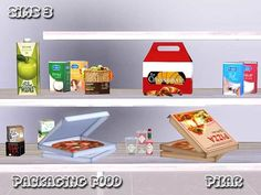 Packaging Food by Pilar - Sims 3 Downloads CC Caboodle