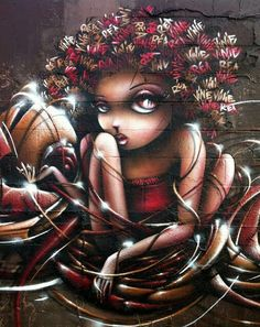 Street-wall graphic art - L'arte grafica sui muri. Street art come forma d'arte e di comunicazione visiva. Seguici su Instagram: https://www.instagram.com/dielle.webegrafica/  Raccolta by Dielle Web e Grafica #streetart #murales #mural #art #artedistrada #artedistradagraffiti #arte #graffiti #wall #wallart #wallarts #wallartstreet