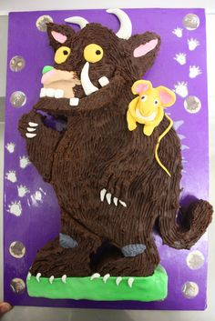 Marron and Dolce: Hints & Tips for Kid's Cakes - GRUFFALO