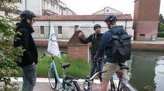 Hit & Run morning tour, lecture on bikes  www.cyclingvenicelagoon.com