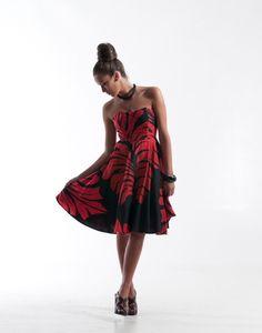 Polynesian Mena Dress