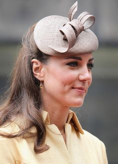 Catherine, Duchess of Cambridge leaves St Giles Cathederal after the Thistle Ceremony on July 5, 2012 in Edinburgh, Scotland.
