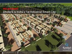 """Did you know? Dholera is India's 1st Industrial Smart City """" Our Prime Minister Mr. Narendrabhai Modi is very interested to develop few cities of India as a smart city and Dholera is one of them. PM also declared that Dholera is India's first Industrial Smart City.  To know more details about Dholera and future of dholera, visit our website http://epsiloninfra.com/ or call us on given numbers"""". #Gujaratinvestment  #FirstSmartcityinIndia  #investmentregioningujarat  #DholeraSIR…"""