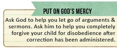 Tip for putting on God's mercy (Ps. 145:8-9) by HiveResources.com