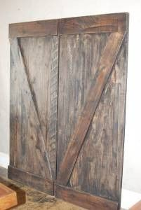 Wooden Barn Doors Wooden Barn Doors, Wooden Vanity, Movie Theater, Front Doors, Home Decor, Products, Cinema, Entry Doors, Decoration Home