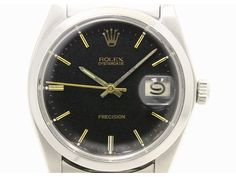 #ROLEX Oyster Date Precision 6694 Steel Hand Winding Mens Watch (BF073574). Authenticity guaranteed, free shipping worldwide & 14 days return policy. Shop more #preloved brand items at #eLADY: http://global.elady.com