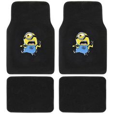 Despicable Me Car Floor Mats for my yellow car
