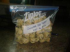 Time Saving Baking Idea - freeze cookie dough balls