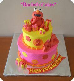 Elmo cake https://www.facebook.com/the.rachels.cakes