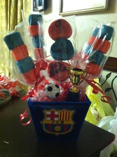 Messi Birthday Party Also For Produce Cool Messi Themed Birthday Party Lego Batman Birthday Cake, Messi Birthday, Birthday Cake Write Name, Birthday Cake Writing, Soccer Birthday Parties, Birthday Party Themes, Birthday Party Centerpieces, Birthday Cake With Candles, Barcelona Soccer Party