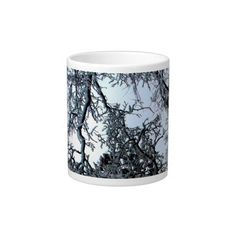 Blue Sky and Oak Trees in Winter Jumbo Mug Jumbo Mugs http://www.zazzle.com/blue_sky_and_oak_trees_in_winter_jumbo_mug_specialty_mug-183860387433257485?rf=238588924226571373