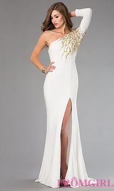 One Shoulder Xtreme Prom Dress at PromGirl.com