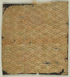 Textile with Figured Silk Weave | German | The Met