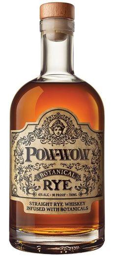 pow-wow botanical rye whiskey