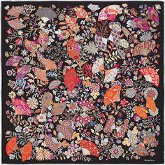 Carrés et accessoires en soie. Maison HermesFleurs Et PapillonsCarré ... 0fa53744fd0