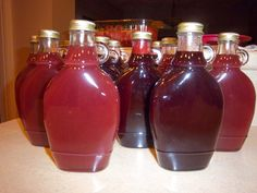 fruit pancake syrups using clear jel instead of corn syrup, etc.