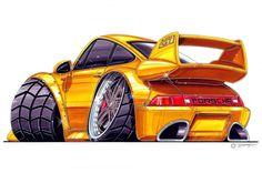 Cars cartoon autos 35 ideas for 2019 Porsche, Cartoon Car Drawing, Cars Cartoon, Cartoon Images, Weird Cars, Cool Cars, Cool Car Drawings, Mercedez Benz, Truck Art