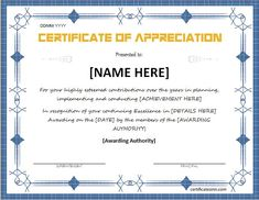 Certificate of appreciation for ms word download at http certificate of appreciation for ms word download at httpcertificatesinncertificates of appreciation certificates pinterest certificate yadclub Gallery