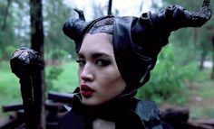 How to Be Maleficent for Halloween: DIY Horns, Dress, & Makeup for Cheap « Halloween Ideas