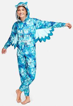 Winged Owl One Piece   Justice Cute Pajama Sets, Cute Pajamas, Girls  Pajamas, 5871801e54