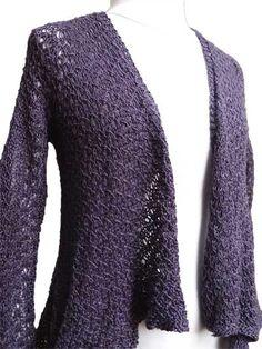 Serenity Cardigan Knit Pattern
