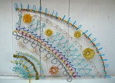 Bella May Leonard interview: Sculptural embroidery Embroidery Needles, Embroidery Art, So Creative, Textile Fabrics, Fabric Manipulation, Textile Artists, Art Classroom, Fabric Art, Design Tutorials