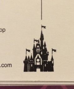 This is the perfect small tattoo of Cinderella's castle. I am going to get this by the end of this year!!!!!