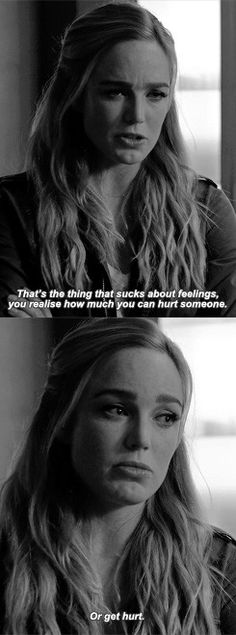 How romantic. It was more like terrifying. SARA LANCE 1X08