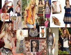 boho chic fashion photos | Brilho e Glamour