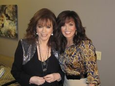 With the beautiful #MarieOsmond on her new show promoting #ThePowerTrip