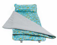 Elektra Cloud9 Nap Mat for Child Care Travel & Sleepovers - Boys Dinosaur
