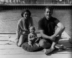 Duke, Josie and their first born Michael. Early 1930s