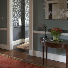 Modern blue hallway | Hallway designs | Hallways | Image | Housetohome
