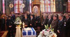 Μνημόσυνο στη μνήμη των πεσόντων εν ώρα υπηρεσίας Αστυνομικών