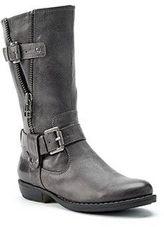"Bare Traps Brynda"" Mid-Calf Moto Boots on shopstyle.com"