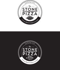 Logo design for thestonepizza.com.