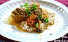 Фрикадельки по-мароккански из говядины    Кулинарные рецепты от «Едим дома!»