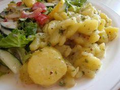 Gourmandises végétariennes: Omas Kartoffelsalat