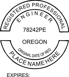 Engineer Seal Embossers Professional Seals Stamps