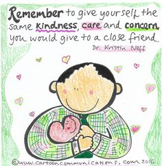 """""""Remember to give yourself the same kindness, care and concern you would give to a close friend"""" Friends Image, Close Friends, Get Well Prayers, Action For Happiness, Joy And Sadness, Nervous Breakdown, Positive Psychology, Self Compassion, Be Kind To Yourself"""