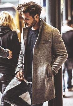 89 Cool Modest Winter Outfits For Men Street Style - Today Pin Modest Winter Outfits, Winter Outfits For Work, Summer Outfits, Mode Masculine, Fashion Business, Business Casual, Mode Man, Style Masculin, Herren Outfit