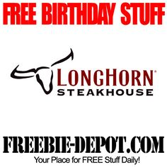 Longhorn Steakhouse Coupons Ends of Coupon Promo Codes MAY 2020 ! We tested our day fire the of grown to we have guest this LongHorn . Free Birthday Food, Birthday Freebies, Birthday Stuff, Birthday Ideas, Happy Birthday, Longhorn Steakhouse Coupons, Best Steakhouse, Free Printable Coupons, Free Printables