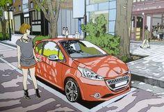 KING OF POP 江口寿史 全イラストレーション集 ( イラストレーション ) - ばいきんダディの何でオレ様が・・・ - Yahoo!ブログ Naive, Manga Art, Japan, Yahoo, Drawings, Painting, Image, Sketch, Cars