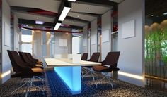 Modern Office meeting room interior design ideas