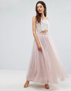 Asos Little Mistress maxi tulle skirt