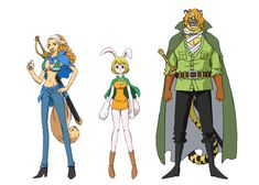 One Piece Anime Reveals Cast for Zou Arc Characters Wanda Carrot and Pedro - http://ift.tt/2aBGWXE